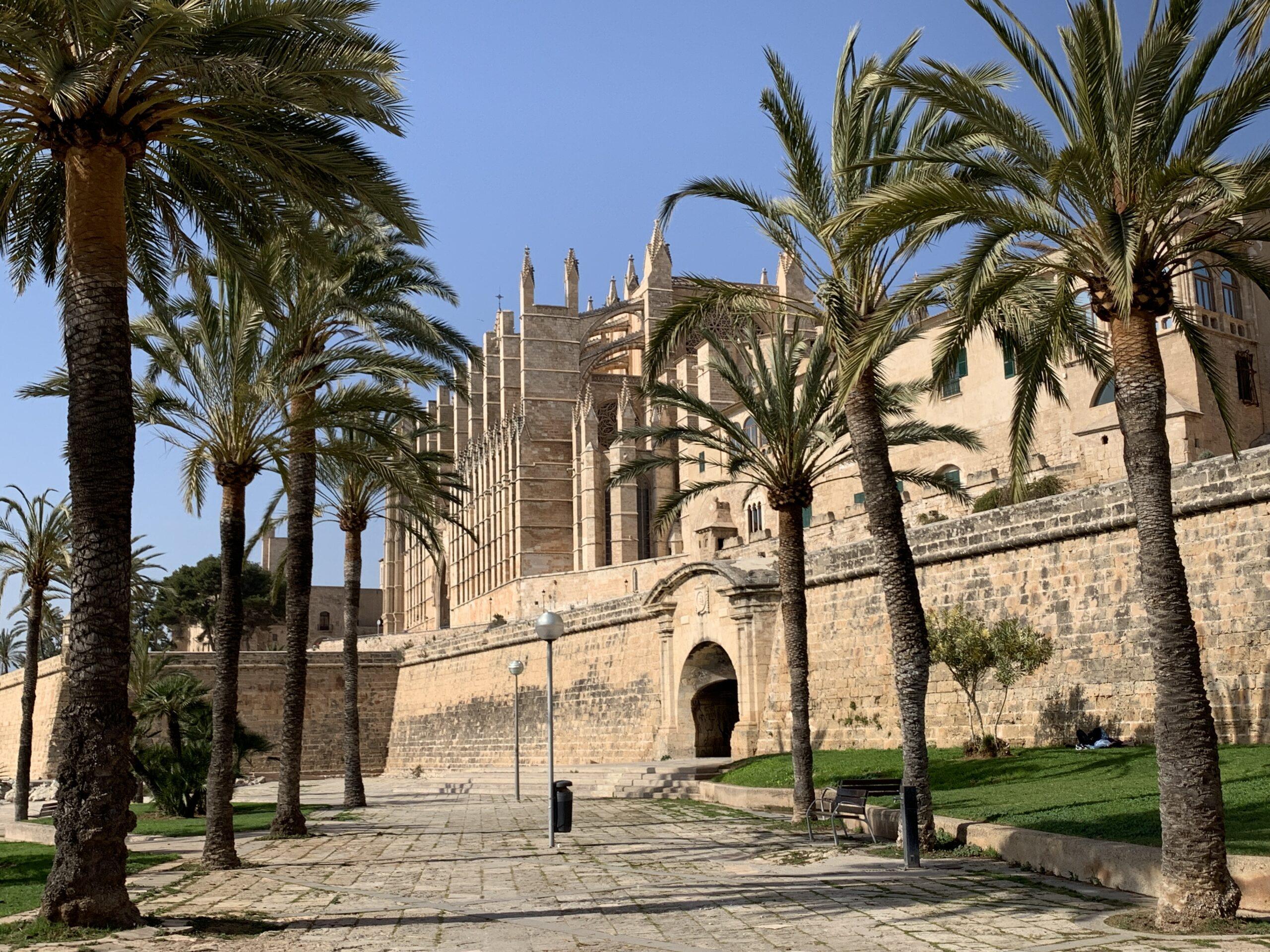 Cathédrale de Palma de Majorque, photo prise par un digital nomad